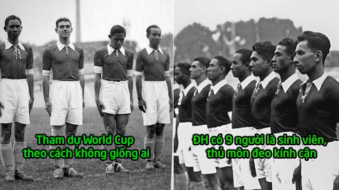 Đội bóng Đông Nam Á đầu tiên và duy nhất từng dự World Cup với kỷ lục không bao giờ lặp lại!