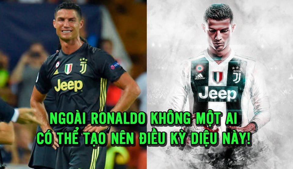 """Quên đi chiếc thẻ đỏ tại C1, Ronaldo đã tạo nên điều kỳ diệu """"ngàn năm có một"""" trong lịch sử Serie A"""