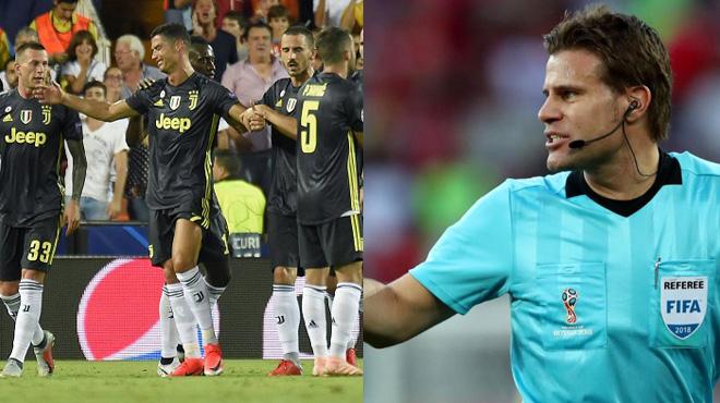 Rút thẻ đỏ đuổi Ronaldo rất quyết đoán, nhưng trọng tài Felix Brych lại viết vào báo cáo thế này khiến ai nghe cũng điên tiết