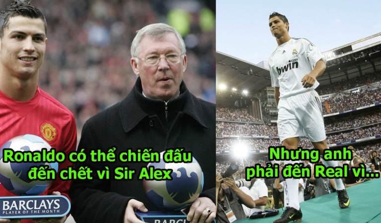 Đúng 9 năm sau ngày sang Real, Ronaldo bất ngờ tiết lộ lý do thực sự khiến anh rời bỏ mái nhà MU và người cha Sir Alex