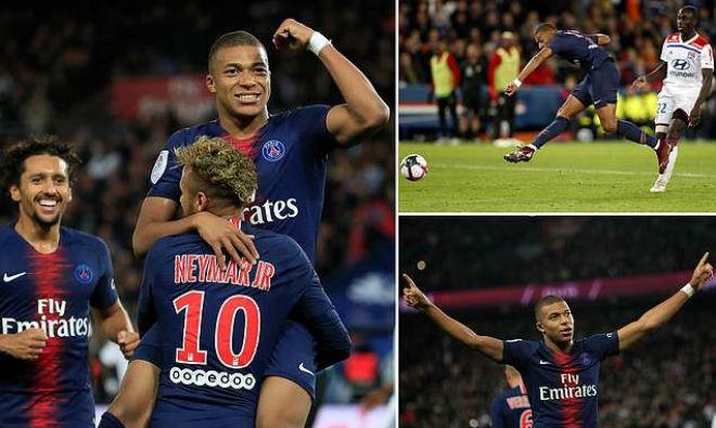 """""""Thần đồng"""" Mbappe phá kỷ lục 45 năm: Tuyên chiến Neymar, PSG hưởng lợi"""