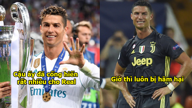 """""""Ronaldo luôn luôn bị hãm hại từ khi rời Real, cậu ta sẽ không giành được danh hiệu nữa đâu"""""""