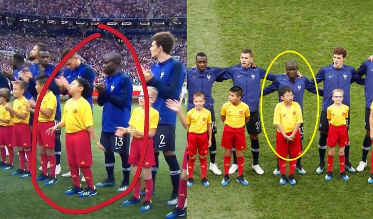 Là người Việt duy nhất ra sân ở trận CK World Cup, cậu bé này đã giúp Pháp vô địch bằng vũ khí cực kỳ khó tin