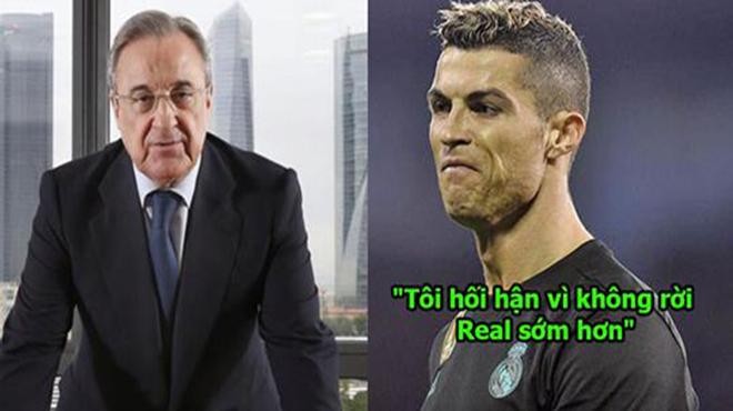 """Ronaldo: """"Tôi không học hành gì nhưng không ngu! QBV cái kiểu gì mà lương thấp hơn Messi hả?"""""""