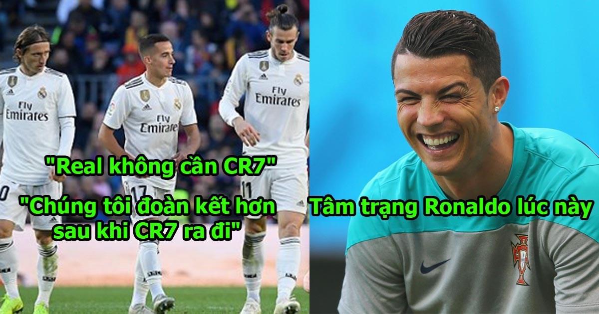 Real phải tống cổ Bale, Benzema, Kroos và Modric ngay đi, Họ không muốn đá bóng nữa rồi!