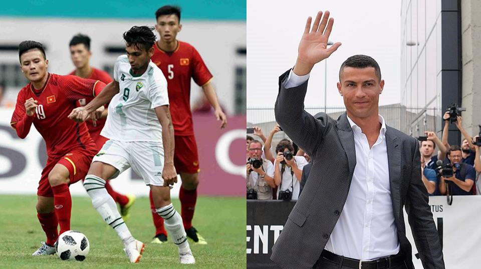 Quá ấn tượng với cầu thủ Việt Nam, đích thân Ronaldo lên tiếng động viên khiến cả nước xúc động tự hào