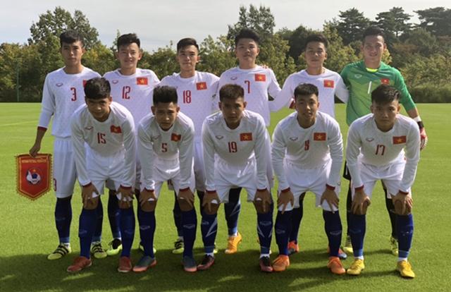 Thua Thái Lan, U17 Việt Nam về hạng tư tại giải Jenesys 2018