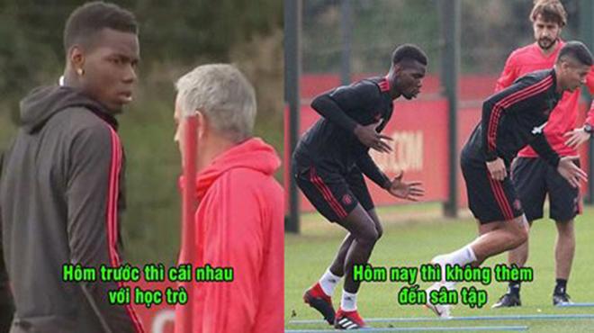 CHÍNH THỨC: Mourinho bỏ mặc học trò tự tập luyện, ngày ra đi chắc chắn đã rất gần