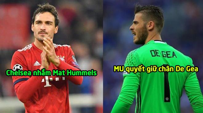 CHUYỂN NHƯỢNG 30/12: MU quyết giữ chân De Gea, Chelsea tính gây s.ốc với siêu trung vệ Bayern