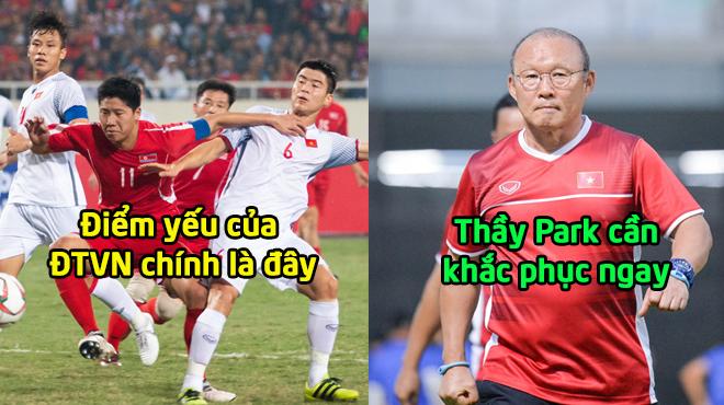 Đã xác định được điểm yếu duy nhất của ĐTVN sau trận đấu với Triều Tiên, thầy Park cần khắc phục ngay!