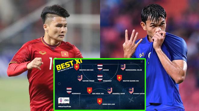 Đến lượt Báo Thái bình chọn ĐHTB AFF Cup 2018: Quá nhiều tranh cãi mặc dù Việt Nam có tới 4 cái tên