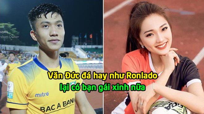 """Báo Trung Quốc: """"Văn Đức hay như Ronlado, người yêu thì xinh như Hoa hậu"""""""