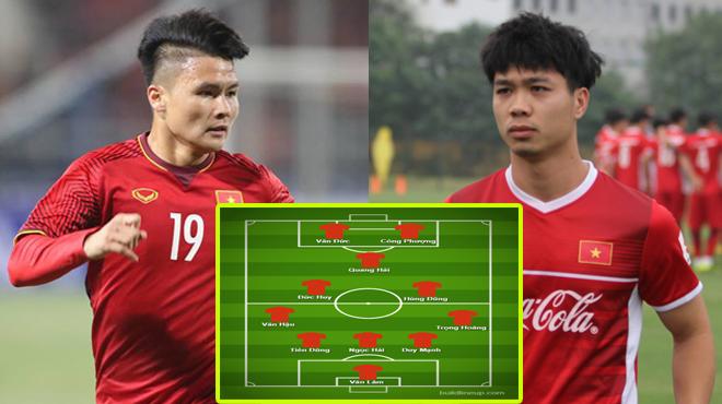 Dự đoán đội hình tối ưu của ĐT Việt Nam ở VCK Asian Cup 2019: Đình Trọng không may gặp chấn thương, giờ chính là cơ hội cho siêu trung vệ này!