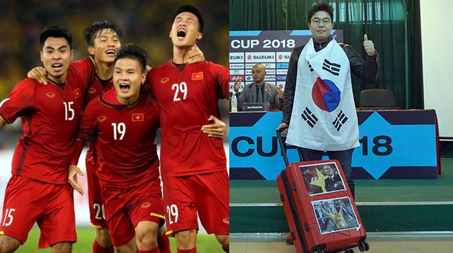 """BLV nổi tiếng của Hàn Quốc: """"Quang Hải hay như Hazard, Việt Nam thắng Malaysia 2-1 và lên ngôi vô địch"""""""