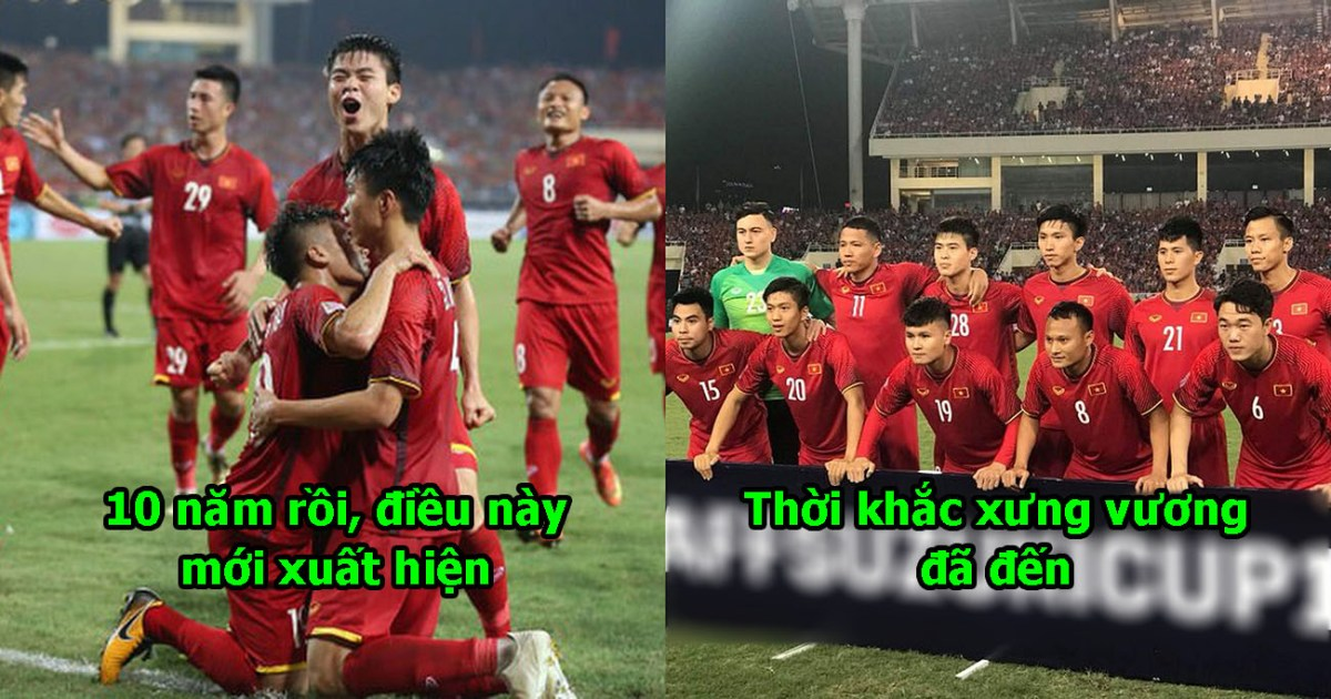 Thêm 1 dấu hiệu cho thấy Việt Nam sẽ vô địch AFF xuất hiện, thời khắc xưng vương của chúng ta đã đến rồi!