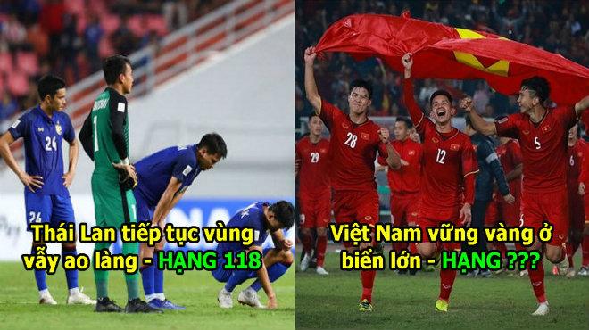 FIFA công bố BXH tháng 12: Việt Nam vững vàng trên đỉnh cao, thứ hạng mà cả Đông Nam Á ao ước