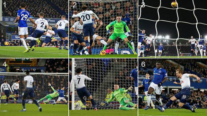 Song s.át Son – Kane tiếp tục tỏa sáng, Tottenham ngược dòng không tưởng trước Everton