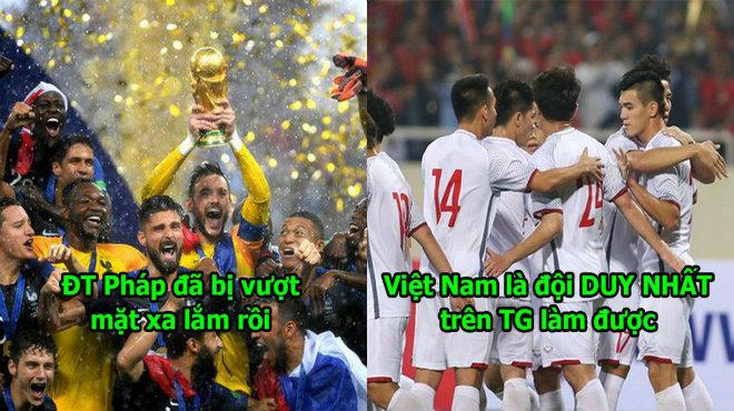 """Báo chí Hàn Quốc: """"Kỷ lục 17 trận bất bại của Việt Nam thật vĩ đại, ĐT Pháp nằm mơ cũng khó mà phá nổi"""""""