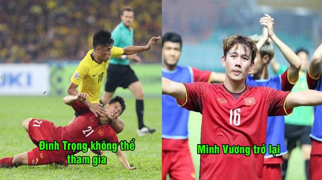 Danh sách sơ bộ 28 chiến binh được thầy Park triệu tập chuẩn bị cho Asian Cup 2019: Quá tiếc cho Đình Trọng, Xuân Mạnh