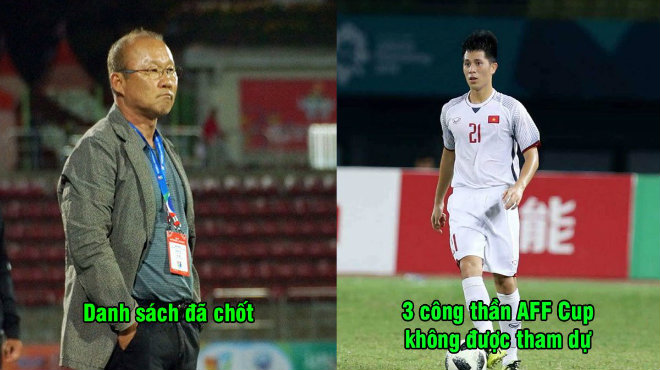 CHÍNH THỨC: Thầy Park công bố danh sách triệu tập 27 chiến binh chuẩn bị cho Asian Cup, chia tay 3 công thần AFF Cup