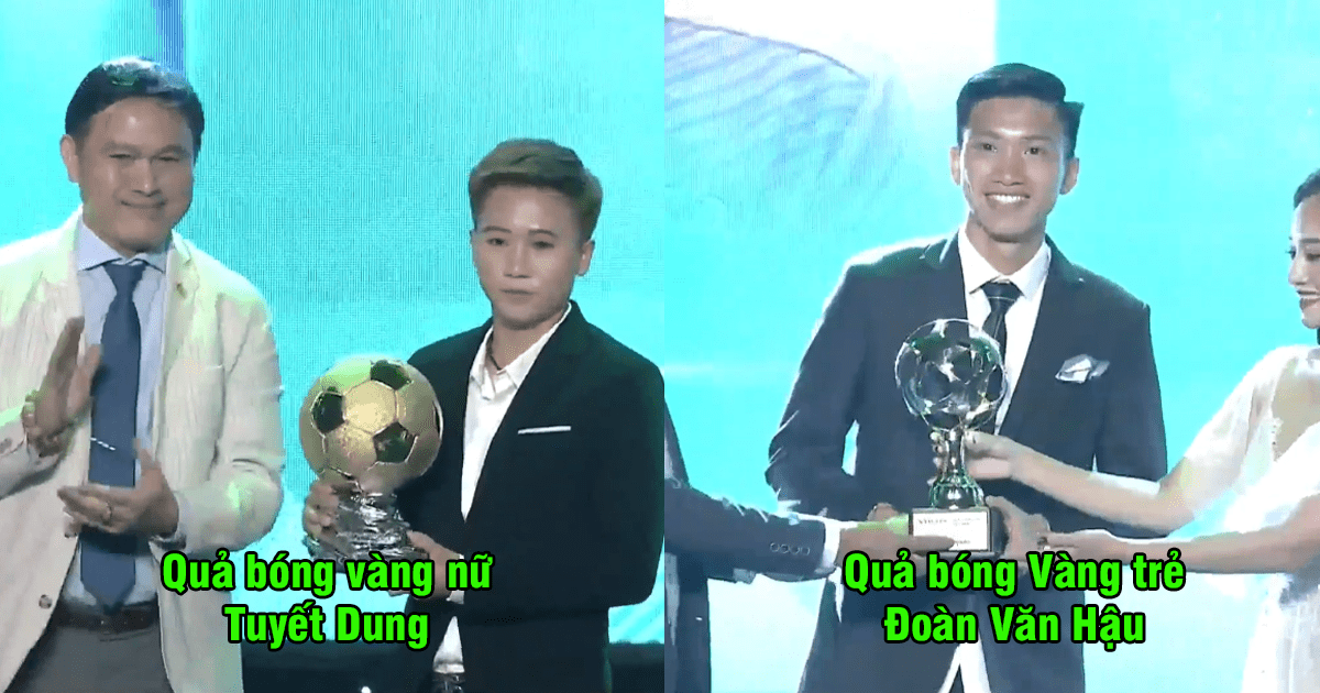CHÙM ẢNH: Cùng nhìn lại những danh hiệu cao quý trong lễ trao giải QBV Việt Nam 2018; chủ nhân vô cùng xứng đáng