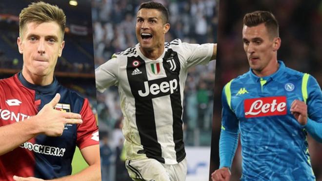 """Cuộc đua """"Vua phá lưới"""" Serie A 2018/2019: Ronaldo bất ngờ bị kẻ vô danh qua mặt"""