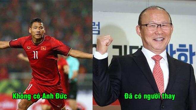Lộ diện cái tên sẽ thay thế Anh Đức lĩnh xướng hàng công ĐT Việt Nam ở Asian Cup 2019