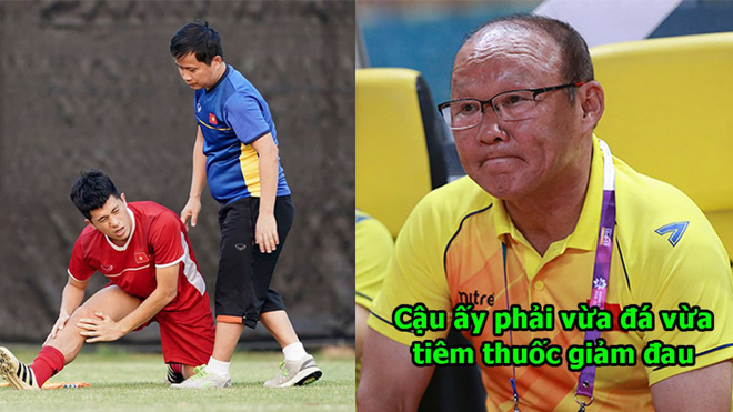 Bố Đình Trọng: Cháu nhà tôi vừa đá vừa điều trị chấn t.h.ư.ơ.n.g nhưng vì màu cờ sắc áo, nó cứ cố ra sân