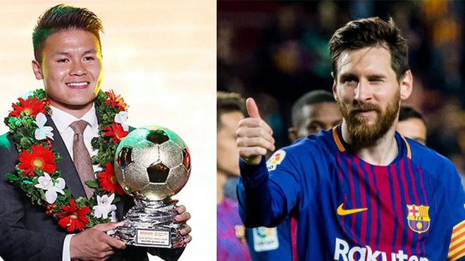 1 cầu thủ Việt Nam sánh vai với Ronaldo và Messi trong BXH danh tiếng này, cả đất nước hãnh diện vì em