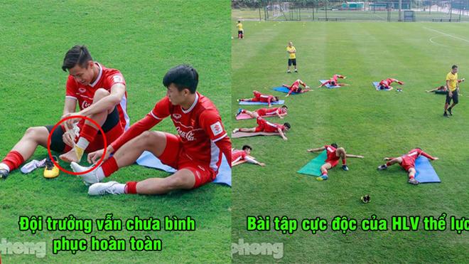 CHÙM ẢNH: ĐT Việt Nam luyện tập thoải mái như đang đi nghỉ dưỡng trước ngày lên đường chiến Asian Cup