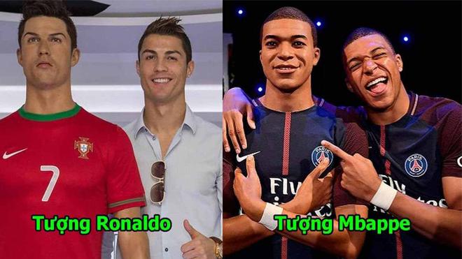 7 cầu thủ nổi tiếng đến mức được đúc tượng sáp vinh danh: Phiên bản Neymar giống đến mức không phân biệt nổi