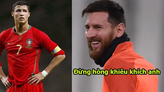 Bị CR7 thách sang Ý đối đầu, Messi đáp trả cực chất khiến đối thủ im thít, đúng là đẳng cấp thiên tài