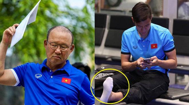 Trụ cột báo hung tin, thầy Park như ngồi trên đống lửa trước trận lượt về với Malaysia