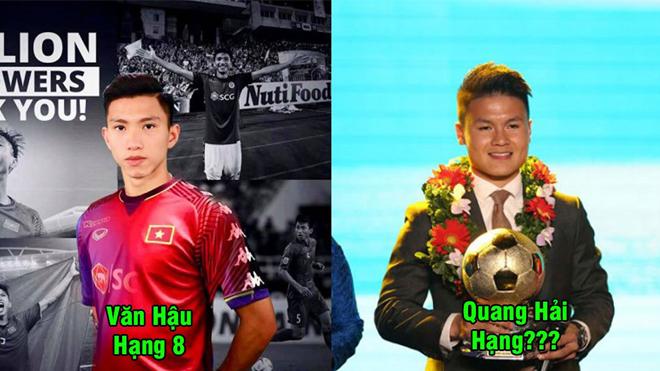 Top 8 cầu thủ nổi tiếng nhất Việt Nam năm 2018: Chinh phạt khắp mọi giải đấu, Quang Hải vẫn kém xa số 1