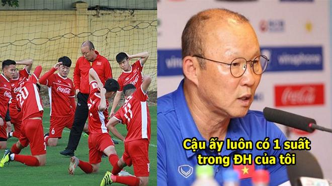 Thầy Park chỉ đích danh cầu thủ quan trọng nhất ĐTVN, còn ai dám đòi loại anh vì phong độ kém nữa đây