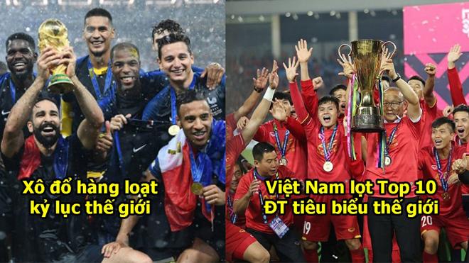 Báo Pháp công bố Top 10 ĐT tiêu biểu nhất thế giới: Vô địch AFF thuyết phục, Việt Nam có bước nhảy vọt cực đỉnh