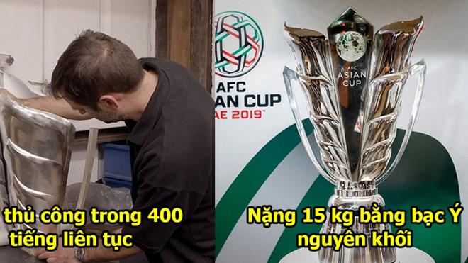 Cận cảnh chiếc Cúp đẹp nhất thế giới mà ĐT Việt Nam sẽ nhận nếu vô địch Asian Cup