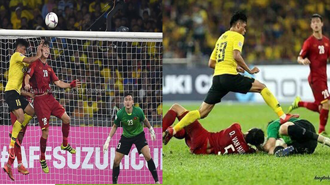 Vẫn biết cả đội Malaysia đá bẩn rồi nhưng ngứa mắt nhất vẫn là gã này, nhìn bức xúc lắm rồi