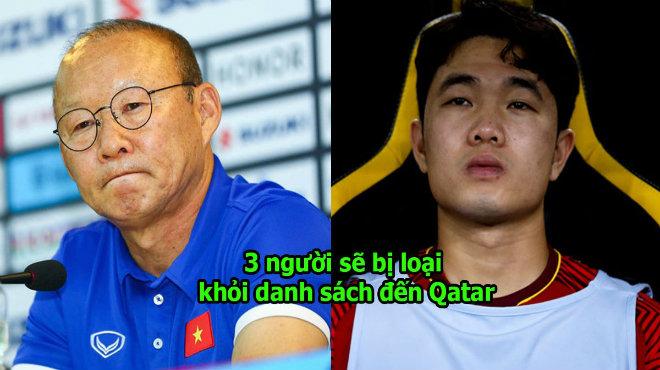 """Thầy Park: """"Tôi sẽ loại 3 cầu thủ trước khi sang Qatar du đấu"""""""