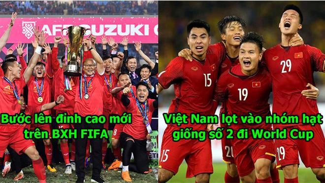 Thăng tiến chóng mặt trên BXH FIFA, cánh cửa đến World Cup 2022 của Việt Nam chưa bao giờ rộng mở đến thế