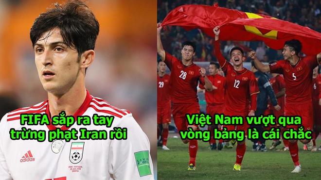 Tin cực cực vui: Iran vi phạm luật FIFA, có thể bị loại khỏi ASIAN Cup giống Indonesia, phép màu lại đến với chúng ta rồi