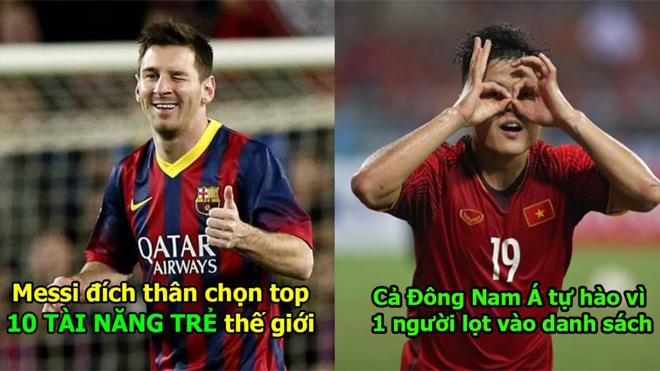 Messi đích thân chọn ra 10 tài năng trẻ xuất sắc nhất thế giới: Tự hào với 1 cái tên đến từ Việt Nam