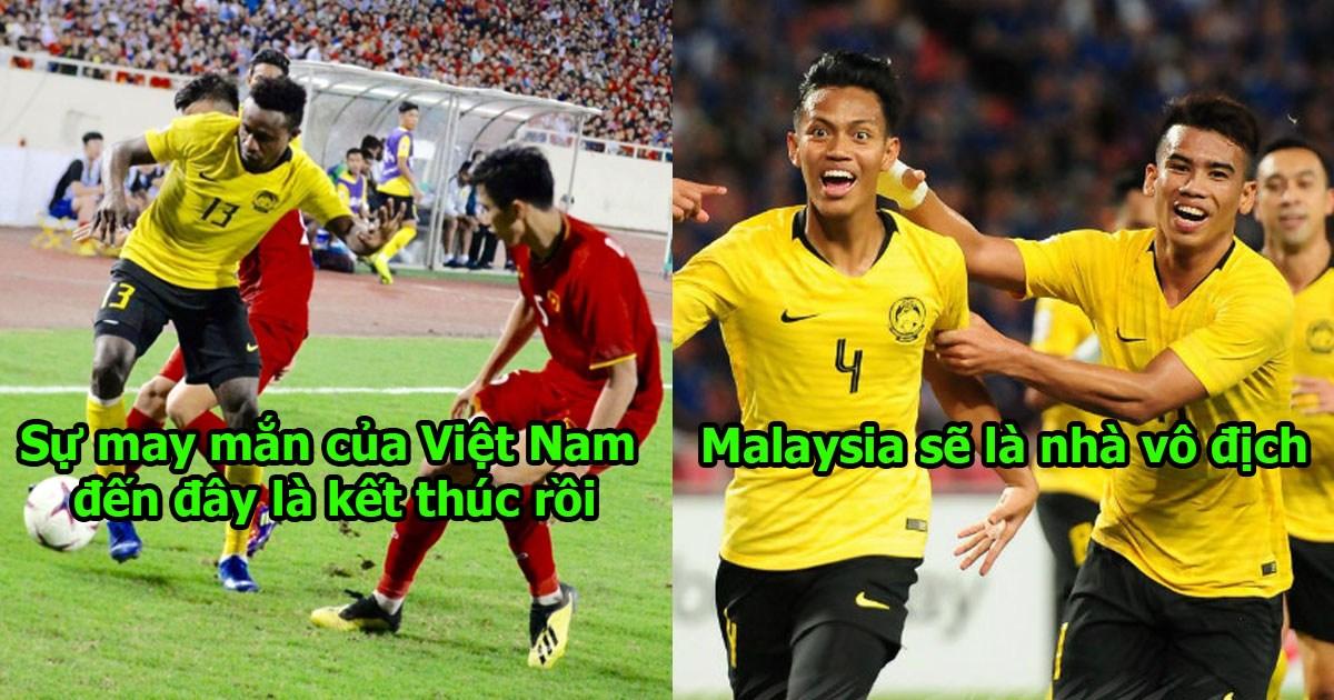 """Thủ môn Malaysia: """"May mắn đã hết với Việt Nam rồi! Chúng tôi sẽ báo thù ở trận chung kết, hãy đợi đấy!"""""""