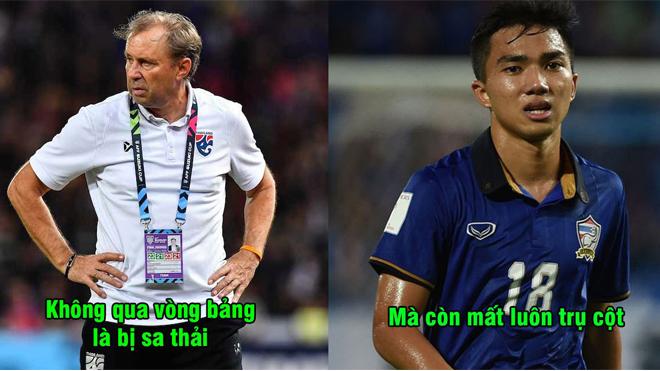 Vừa tập trung chuẩn bị cho Asian Cup, Thái Lan đã nhận tin dữ về lực lượng, đúng người không thể thay thế