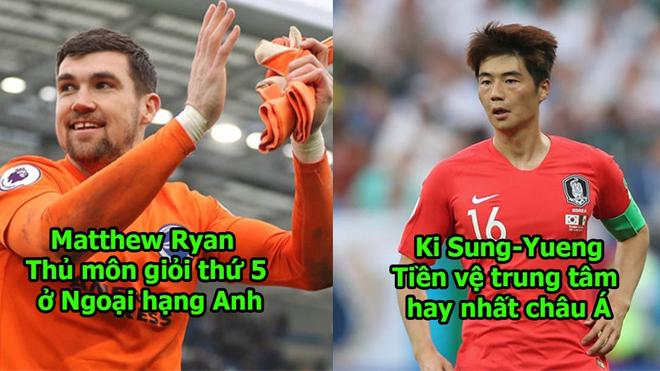 Dàn siêu sao đẳng cấp thế giới sánh vai với Quang Hải ở ASIAN Cup: Son Heung Min chưa là gì đâu