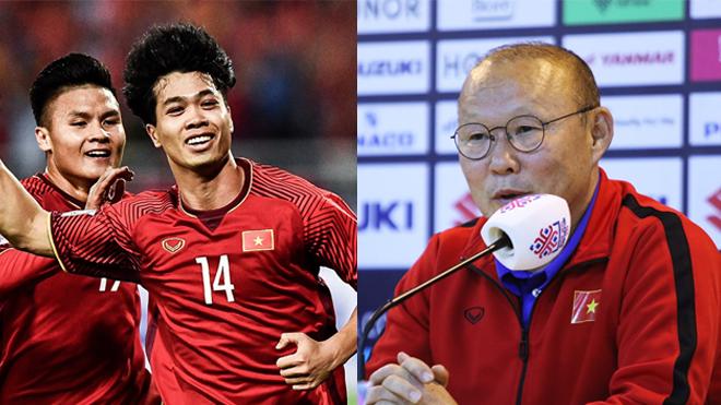"""Báo chí Hàn Quốc: """"Nếu vô địch AFF Cup; thầy trò HLV Park Hang-seo sẽ lập siêu kỷ lục, nhà ĐKVĐ thế giới Pháp cũng sẽ phải chào thua"""""""