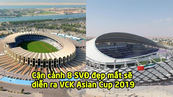Cận cảnh 8 sân vận động hoành tráng sẽ diễn ra các trận đấu tại VCK Asian Cup 2019: Quá hoành tráng và đẹp mắt