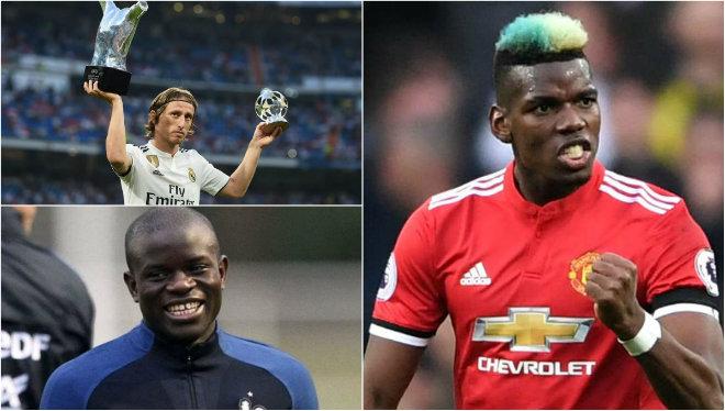 Top 10 tiền vệ trung tâm xuất sắc nhất hiện tại: La Liga thắng thế, sao Chelsea làm rạng danh Premier League