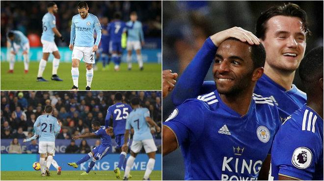 Kết quả Leicester City vs Man City: Nhà Vua hụt hơi, ngược dòng địa chấn