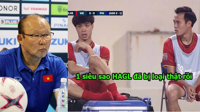 CHÍNH THỨC: Thầy Park công bố 4 người bị loại khỏi ASIAN Cup, lại 1 siêu sao HAGL phải chia tay Đội Tuyển